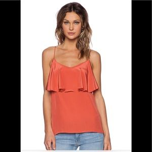 NWT Amour Avert Belisa Tank in Coral size L